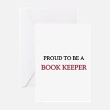 Proud to be a Book Keeper Greeting Cards (Pk of 10