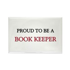 Proud to be a Book Keeper Rectangle Magnet