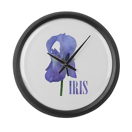 iris Large Wall Clock