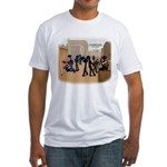 DE_dust2 print Fitted T-Shirt