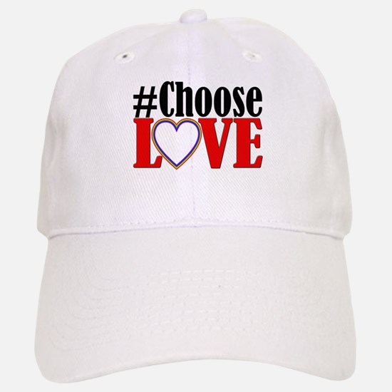 Choose Love Heart Baseball Baseball Baseball Cap