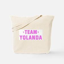 Team YOLANDA Tote Bag
