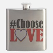 Choose Love Heart Flask