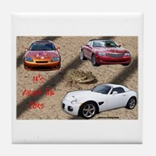ALL ABOUT THE CARS Tile Coaster