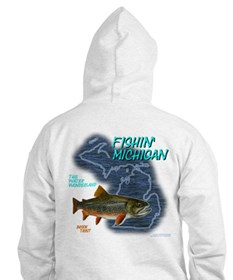 Hoodie with Design Printed on Back