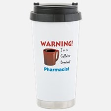 Caffeine Deprived Pharmacist Travel Mug