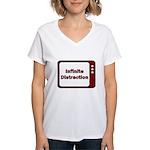 Infinite Distraction Women's V-Neck T-Shirt