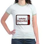 Infinite Distraction Jr. Ringer T-Shirt