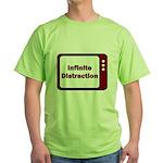 Infinite Distraction Green T-Shirt