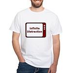 Infinite Distraction White T-Shirt
