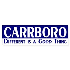 Carrboro: Different is a Good Thing!