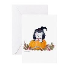Westie Halloween Witch Greeting Cards (Pk of 10)