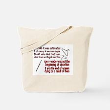 roe v wade Tote Bag