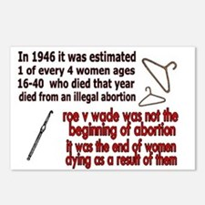 roe v wade Postcards (Package of 8)