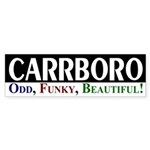 Carrboro: Odd, Funky, Beautiful!