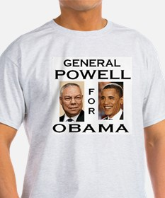 General Powell for Obama T-Shirt