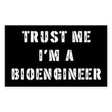 Bioengineer Gift Rectangle Decal