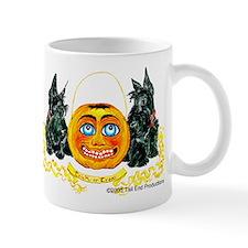 Scottish Terrier Halloween Pumpkin Mug