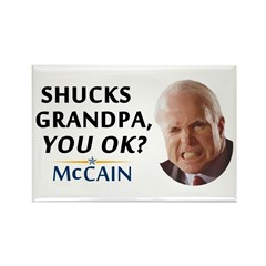 Grandpa? You OK? Rectangle Magnet (10 pack)