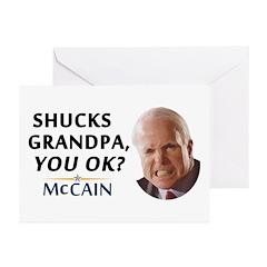 Grandpa? You OK? Greeting Cards (Pk of 10)