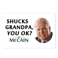 Grandpa? You OK? Postcards (Package of 8)