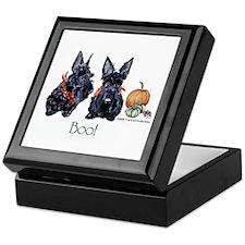 Halloween Scotties Keepsake Box