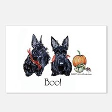 Halloween Scotties Postcards (Package of 8)