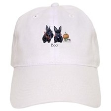 Halloween Scotties Baseball Cap