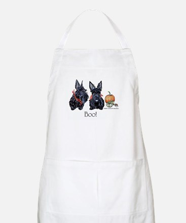 Halloween Scotties Apron