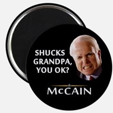 Grandpa, You Okay? McCain Magnet