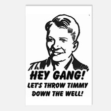 Throw Timmy Down the Well Postcards (Package of 8)