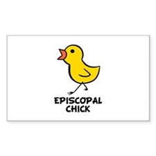 Chick Rectangle Decal