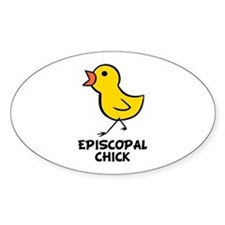 Chick Oval Decal