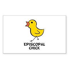 Chick Rectangle Sticker 10 pk)