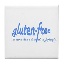 gluten-free Lifestyle Tile Coaster