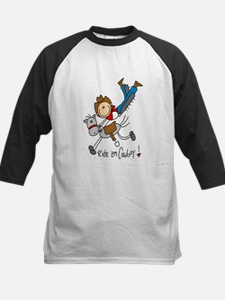 Ride 'em Cowboy Kids Baseball Jersey