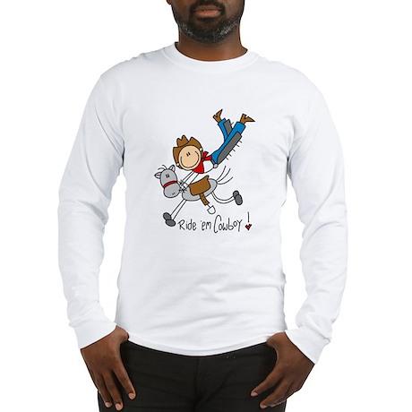 Ride 'em Cowboy Long Sleeve T-Shirt