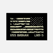 USS Bataan Rectangle Magnet