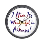 Arkansas Pride! Wall Clock
