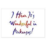 Arkansas Pride! Large Poster