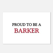 Proud to be a Barker Postcards (Package of 8)