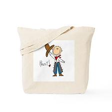 Cowboy Howdy Tote Bag