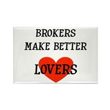 Broker Gift Rectangle Magnet