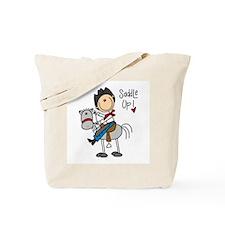 Cowboy Saddle Up Tote Bag