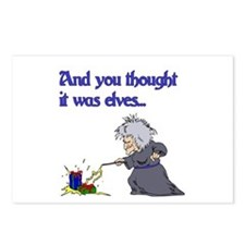 Thought it was elves Postcards (Package of 8)