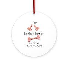 Broken Bones ST Ornament (Round)