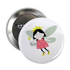 """Fairy Princess 2.25"""" Button"""
