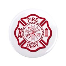"Firefighter Baby 3.5"" Button (100 pack)"