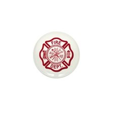 Firefighter Baby Mini Button (10 pack)