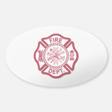 Firefighter Baby Decal